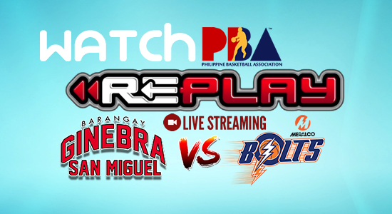 List of Replay Videos Ginebra vs Meralco Game 3 October 18, 2017 @ Smart Araneta Coliseum