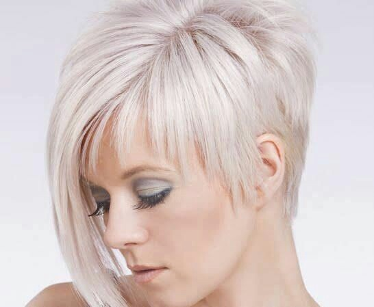 Edge short hairstyle