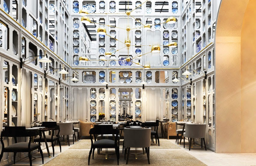 Only you hotel in madrid designed by Lazaro rosa violan via belle vivir blog