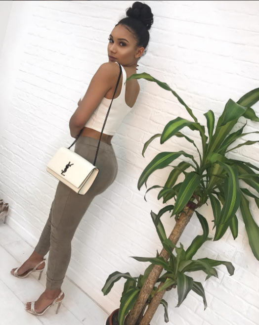 Check out sizzling hot photos of Alex Iwobi's girlfriend Clarisse