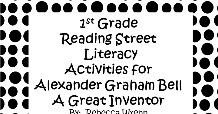 Learning With Firsties: First Grade Reading Street