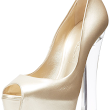 Women's Platform Peep-Toe Pump
