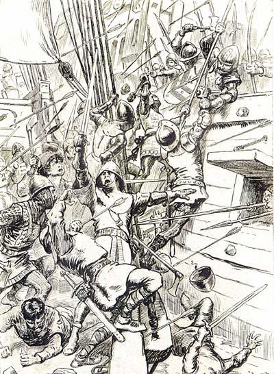 http://www.britishbattles.com/100-years-war/sluys.htm
