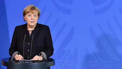 Angela Merkel, canciller de Alemania, en un acto público en Berlín, capital germana, 2 de noviembre de 2016.