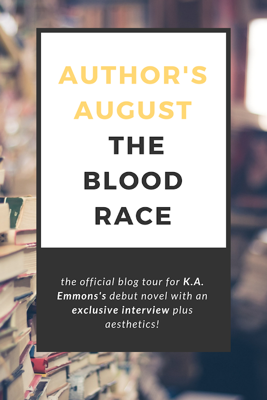Paper Pizza: Have you read The Blood Race? If not, you came to the right place! (Author's August #1)