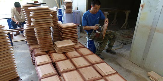 image result for Pacific Entries wood working in process
