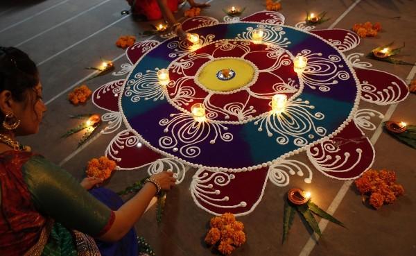 Diwali Rangoli Images 2016