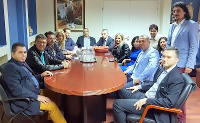 Συνάντηση ομάδων εργασίας της Π.Ε. Ημαθίας και της Νομαρχίας Ilfov Βουκουρεστίου