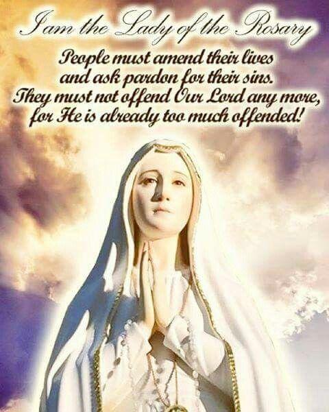 English ave maria prayer