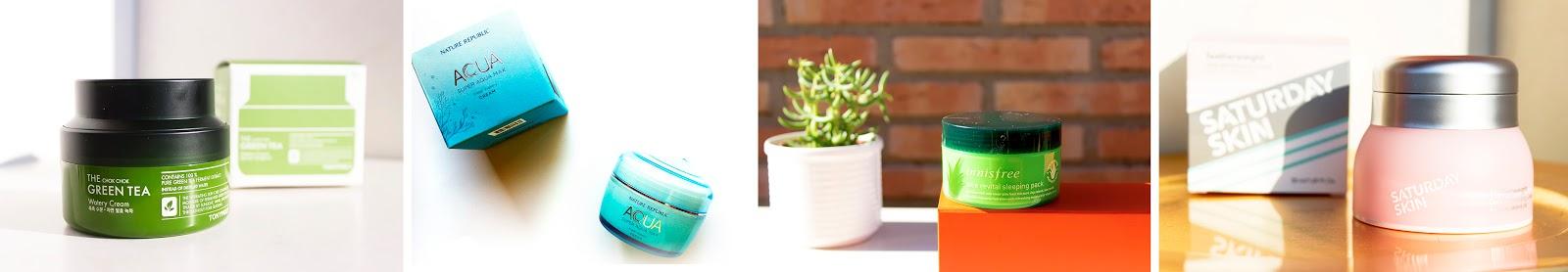 Productos hidratantes y humectantes para pieles grasas