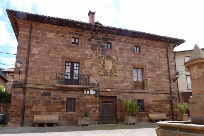 Casas de piedra de Valgañón.