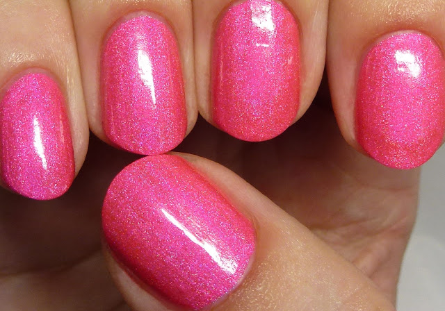 Pretty Jelly Nail Polish Pink Eraser