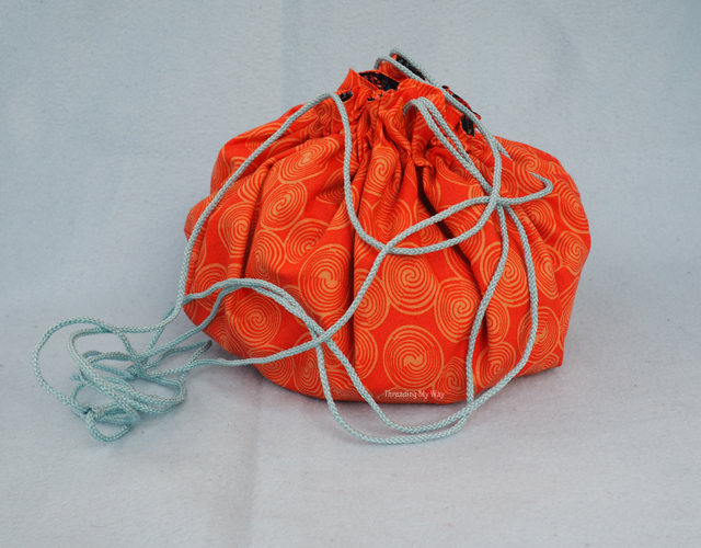 The Bundled Up Bindle Bag, a new PDF bag pattern by eSheep Designs.