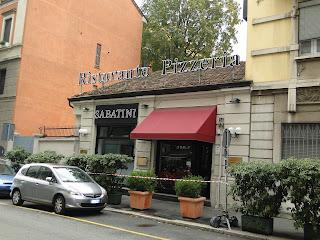 Fachada do Ristorante Sabatini