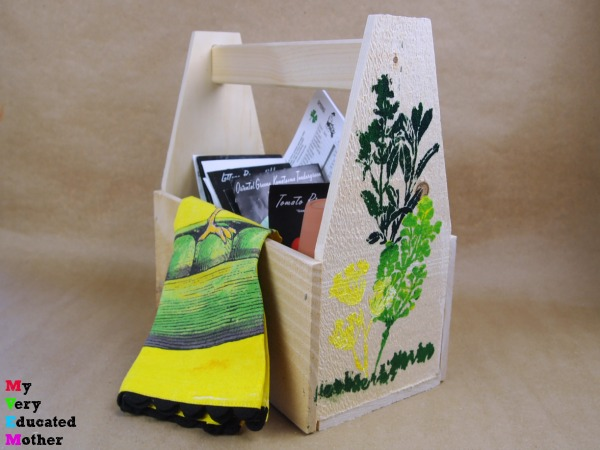 Spring Forward Garden Seed Caddy