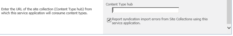 SharePoint 2010 Content type hub