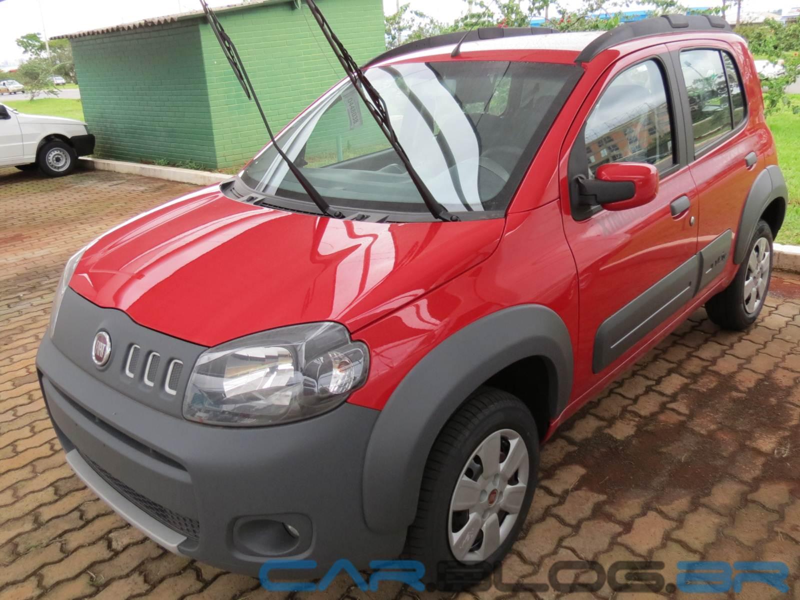 Fiat Uno Way 2013 Xingu Chega 224 S Concession 225 Rias Car Blog Br