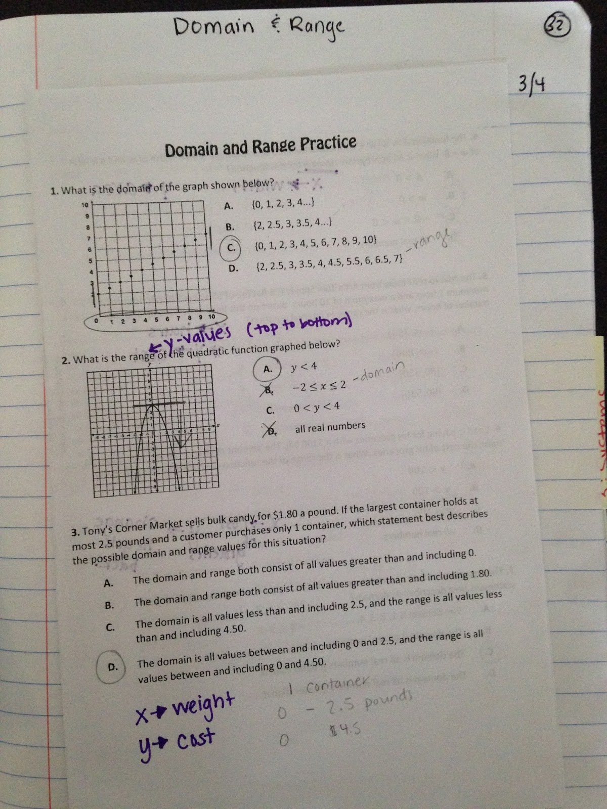 Mrs Williams Is Off On A Tangent Linear Functions Part 2