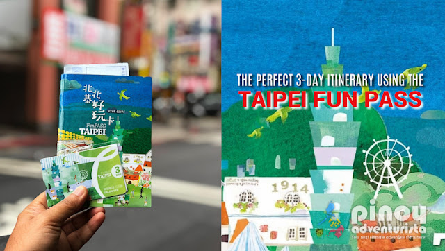 NEW UPDATED TAIWAN TRAVEL GUIDE 2019 TAIPEI FUN PASS