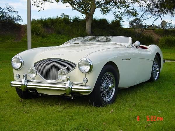 Nice Restored, 1955 Austin Healey 100-4 BN1