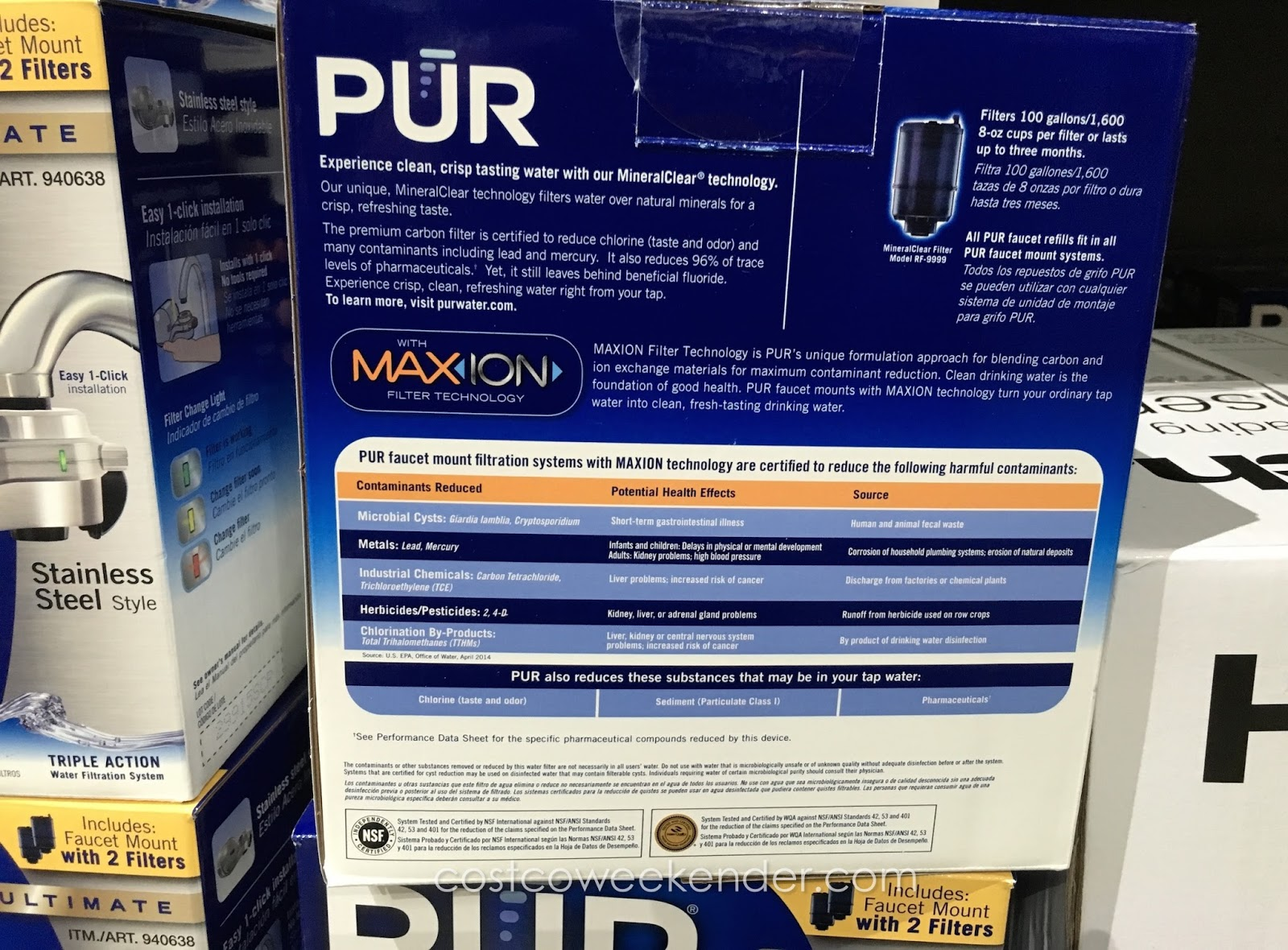 Costco Water Filter System. Costco Water Filtration Systems Long ...