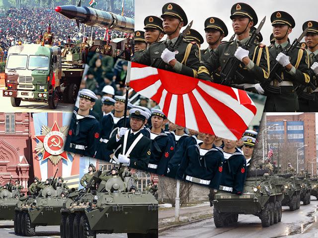 5 Negara Tentera Terkuat Di Dunia 2017