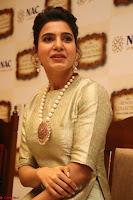 Samantha Ruth Prabhu in Cream Suit at Launch of NAC Jewelles Antique Exhibition 2.8.17 ~  Exclusive Celebrities Galleries 029.jpg