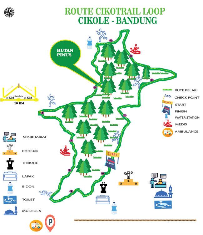 Ciko Trail Running Route 2018