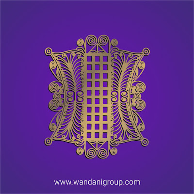 Pintu Aceh Gold Warna Emas (Ornament) - Free Vector