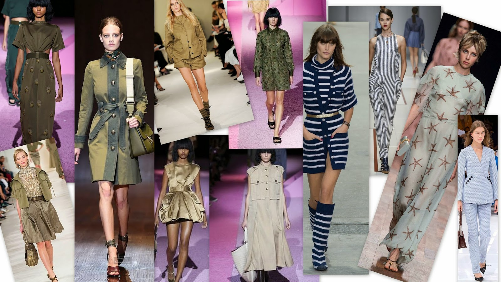 Spring Summer 2015 Womens Catwalk Runway Trend Report