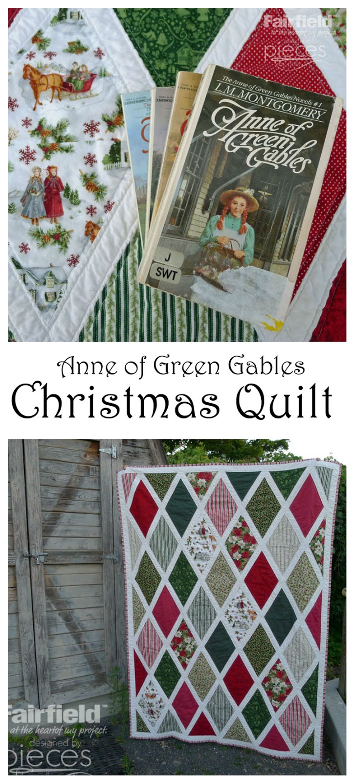 Pieces By Polly Anne Of Green Gables Christmas Quilt