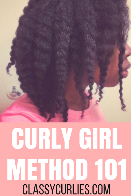 Curly Girl Method 101 - using no shampoo for curly hair - ClassyCurlies.com