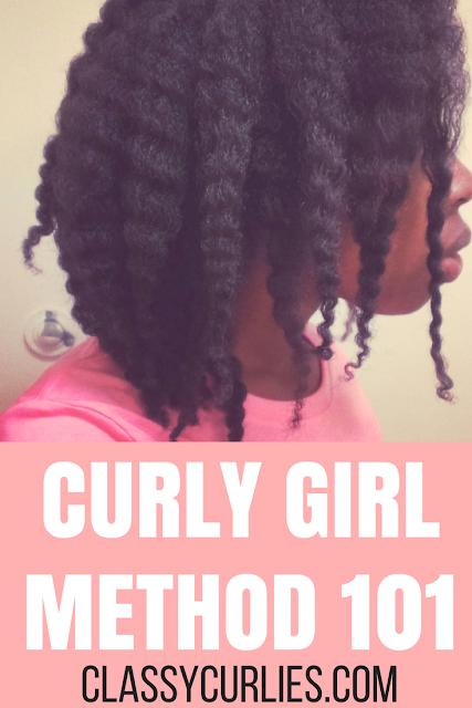 Curly Girl Method 101 - using no shampoo for curly hair - ClassyCurlies.com