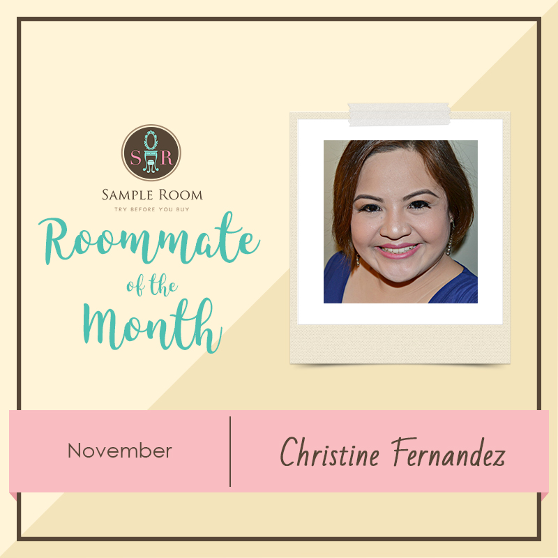 November 2016 Sample Room Roommate Of The Month