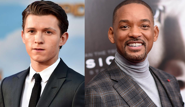 "Will Smith e Tom Holland entram para o elenco da animação ""Spies in Disguise"""