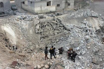 Korban Selamat Sebut Amerika Berbohong Soal Bom Di Masjid Aleppo