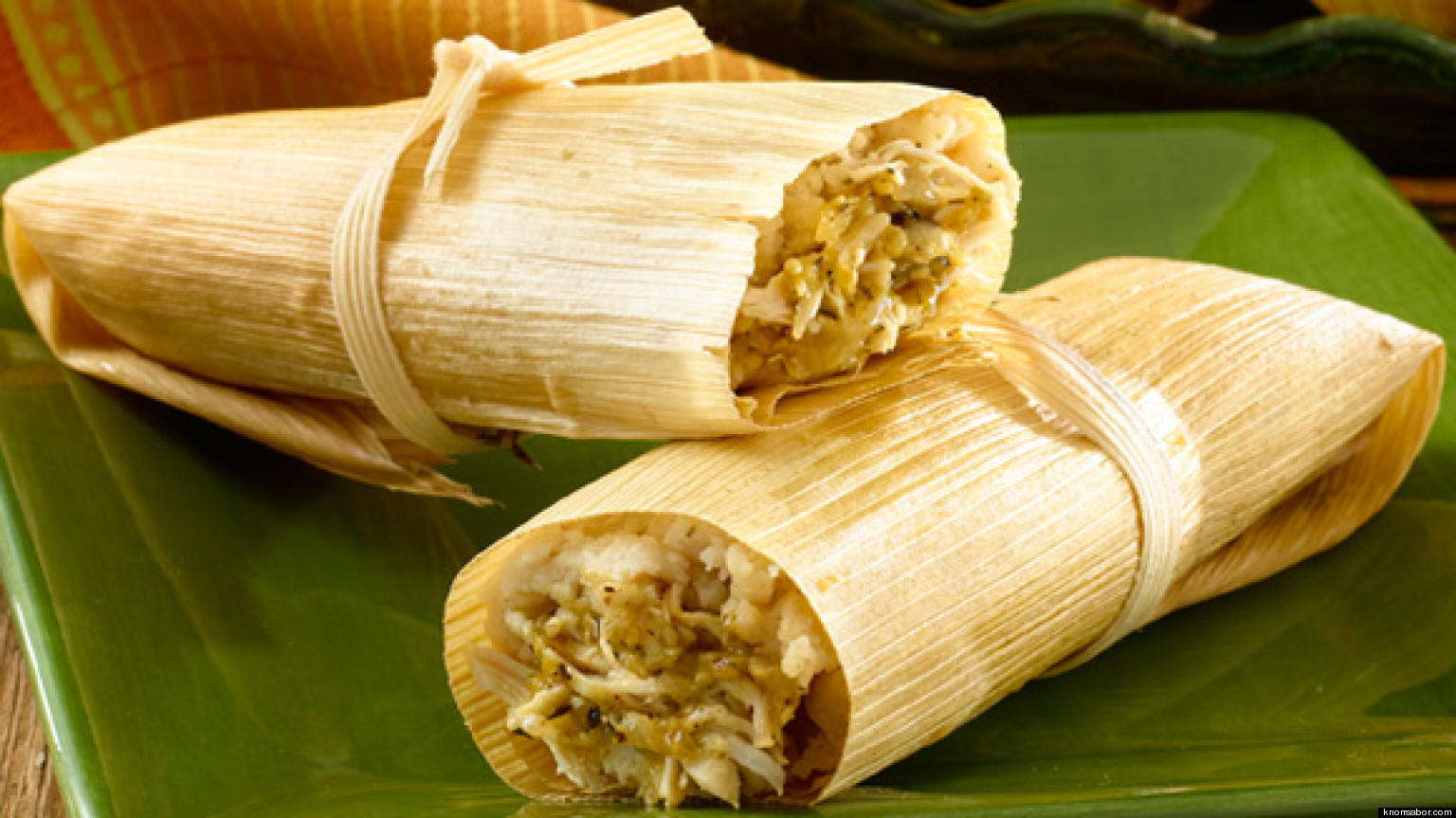 how to prepare corn husks for tamales