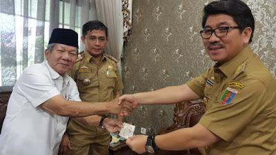 PMI Lampung Serahkan Bantuan ke Korban Gempa Palu