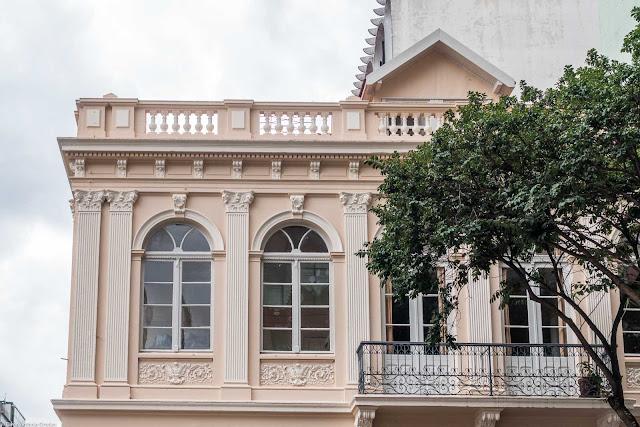 Casa da Família Lustosa restaurada - detalhe