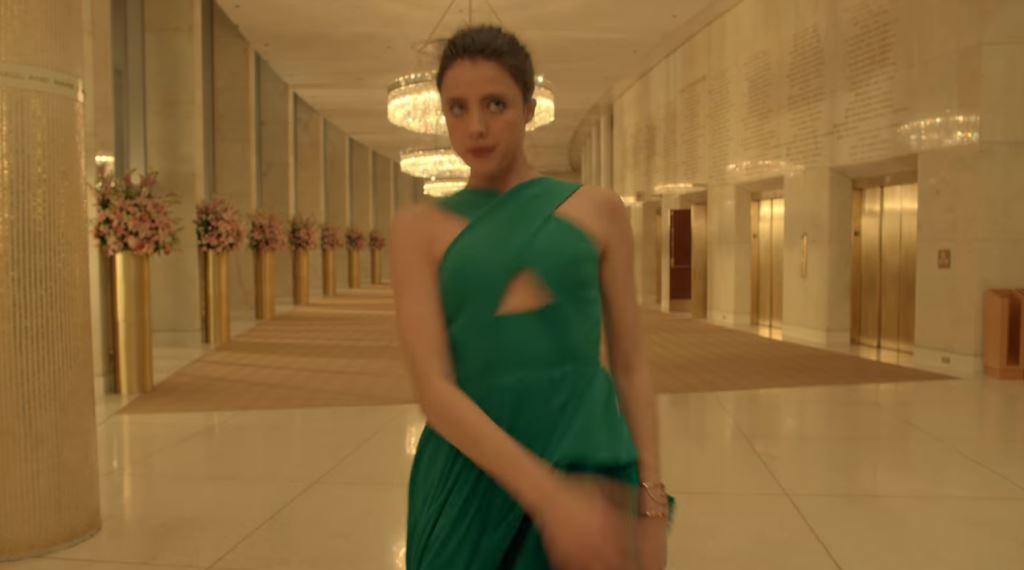 modella kenzo testimonial pubblicita profumo the world fragranza 2016