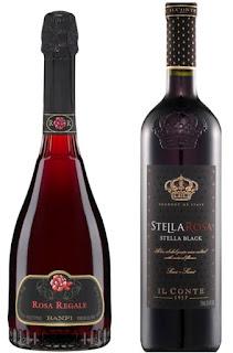 Banfi's Rosa Regale & Stella Rosa 'Black'