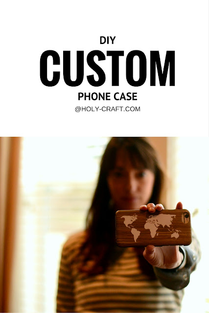 DIY custom phone case with vinyl and your Silhouette cameo