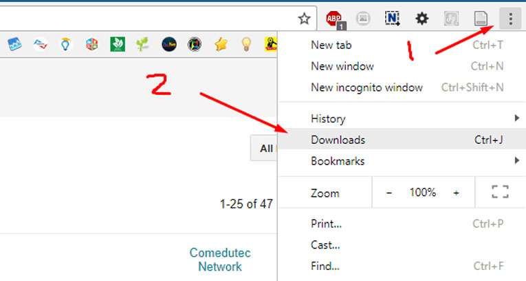 Cara Melihat Hasil Download di Google Chrome