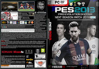 PATCH 2018 NEXT SEASON PES 2013