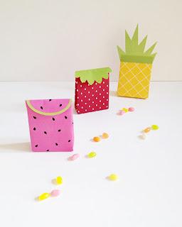 Bolsas con Forma de Frutas para Imprimir Gratis.