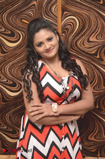Telugu Actress Vasavi Reddy Pictures in Short Dress 0015