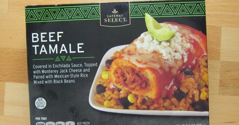 Frozen Friday - Safeway Select - Beef Tamale | Brand Eating