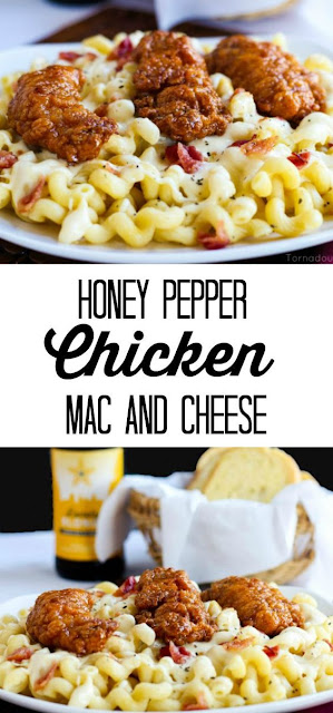 Perfect Honey Pepper Chicken Mac and Cheese