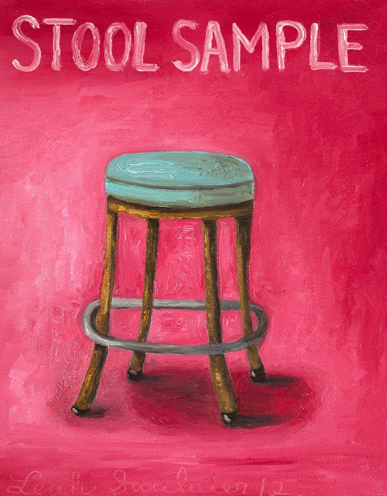 Pleasing Art By Leah Saulnier My Stool Sample A Close Look At My Odd Lamtechconsult Wood Chair Design Ideas Lamtechconsultcom