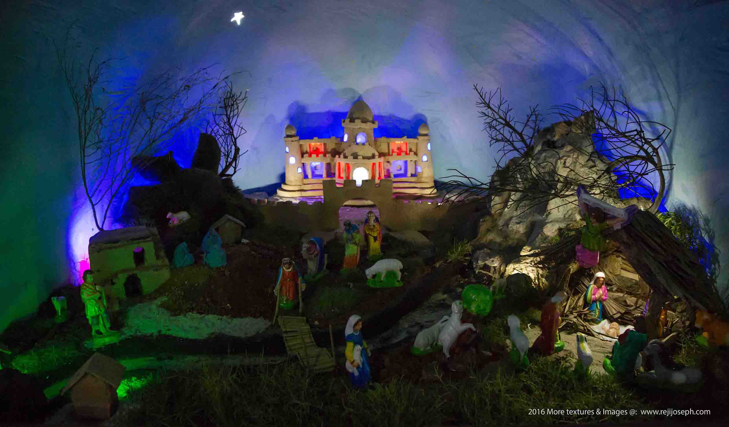 Christmas crib Pulkoodu St. George Forane Church Edappally 00020